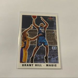 Grant Hill '03 Fleer // SkyBox Tradition Card
